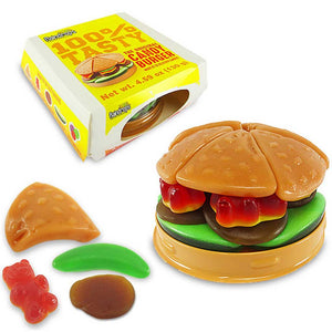 Raindrops Gummy Hamburger Confection - Nibblers Popcorn Company
