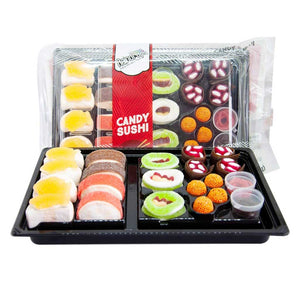 Raindrops Gummy Sushi - Large Confection - Nibblers Popcorn Company