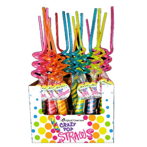 Crazy Straw Pops Confection - Nibblers Popcorn Company