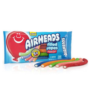 Airheads Ropes Confection - Nibblers Popcorn Company