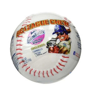 Big League Chew Baseballs Confection - Nibblers Popcorn Company