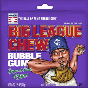 Big League Chew - Grape Confection - Nibblers Popcorn Company