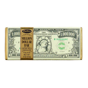 Million Dollar Chocolate Bar Confection - Nibblers Popcorn Company