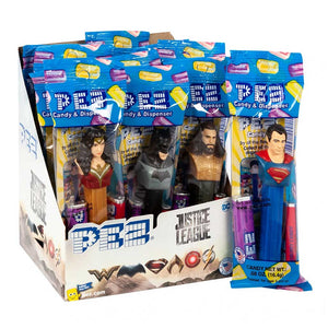 Pez Dispensers - Justice League Confection - Nibblers Popcorn Company