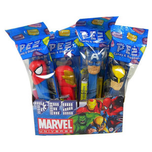 Pez Dispensers - Marvel Confection - Nibblers Popcorn Company