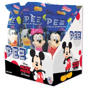 Pez Dispensers - Mickey and Friends Confection - Nibblers Popcorn Company