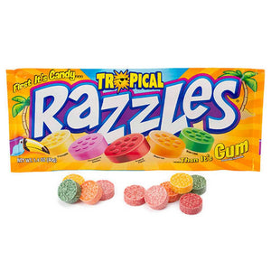 Tropical Razzles Confection - Nibblers Popcorn Company