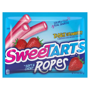 Sweetarts Ropes - Tangy Strawberry Confection - Nibblers Popcorn Company