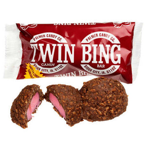Twin Bing Bar Confection - Nibblers Popcorn Company