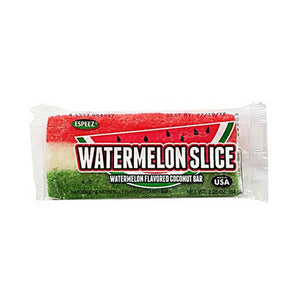 Watermelon Coconut Bar Confection - Nibblers Popcorn Company