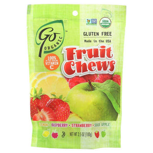 Go Organic Fruit Chews Confection - Nibblers Popcorn Company