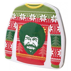 Bob Ross Christmas Sweater Mints Confection - Nibblers Popcorn Company