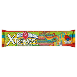 Airheads Xtreme Sour Belts Confection - Nibblers Popcorn Company