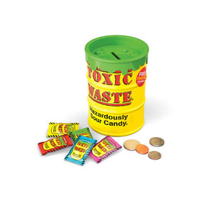Toxic Waste Sour Candy Bank Confection - Nibblers Popcorn Company