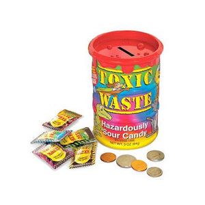 Toxic Waste Tie Dye Bank Confection - Nibblers Popcorn Company