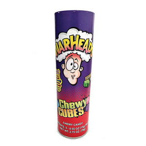 Warheads Chewy Cube Bank Confection - Nibblers Popcorn Company