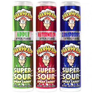 Warheads Super Sour Spray Confection - Nibblers Popcorn Company