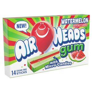Airheads Watermelon Gum Confection - Nibblers Popcorn Company