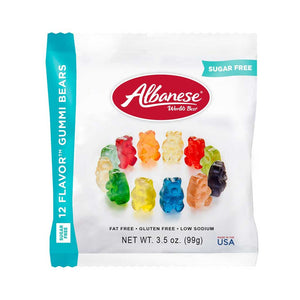 Albanese Gummi Bears Confection - Nibblers Popcorn Company