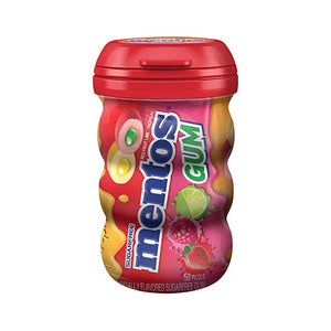 Mentos Red Fruit and Lime Gum Confection - Nibblers Popcorn Company