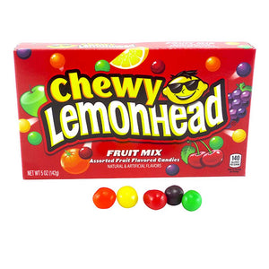 Chewy Lemonhead Fruit Mix Theaterbox Confection - Nibblers Popcorn Company
