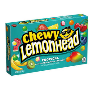 Chewy Lemonhead Tropical Theaterbox Confection - Nibblers Popcorn Company