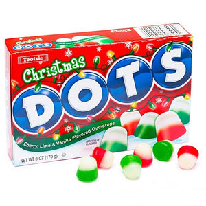 Dots Christmas Theaterbox Confection - Nibblers Popcorn Company