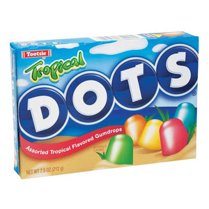 Dots Tropical Theaterbox Confection - Nibblers Popcorn Company