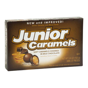 Junior Caramels Theaterbox Confection - Nibblers Popcorn Company