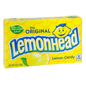 Lemonhead Original Theaterbox Confection - Nibblers Popcorn Company