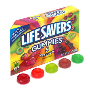 Lifesavers Gummies Theaterbox Confection - Nibblers Popcorn Company