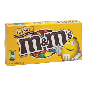 M&Ms Peanut Theaterbox Confection - Nibblers Popcorn Company
