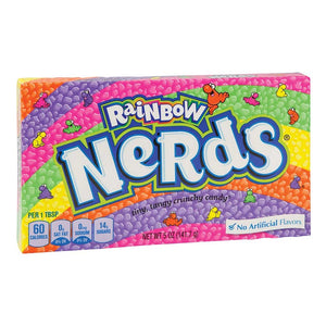 Rainbow Nerds Theaterbox Confection - Nibblers Popcorn Company