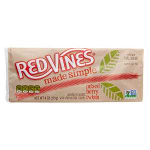 Red Vines Made Simple Confection - Nibblers Popcorn Company