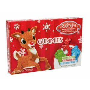 Rudolph Gummies Theaterbox Confection - Nibblers Popcorn Company