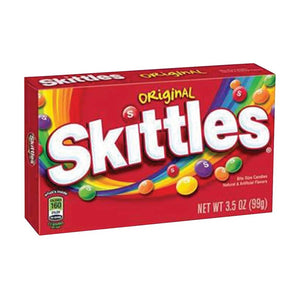 Skittles Theaterbox Confection - Nibblers Popcorn Company