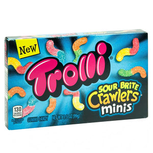 Trolli Sour Brite Crawlers Theaterbox Confection - Nibblers Popcorn Company