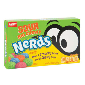 Sour Chewy Nerds Theaterbox Confection - Nibblers Popcorn Company