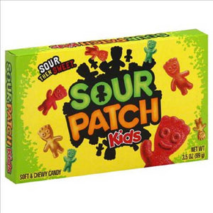 Sour Patch Kids Theaterbox Confection - Nibblers Popcorn Company