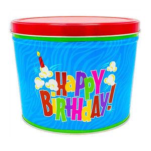Birthday Pop Tin Gift - Nibblers Popcorn Company