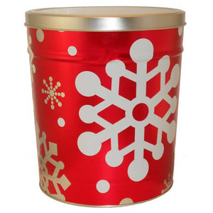 Let It Snow Tin Gift - Nibblers Popcorn Company