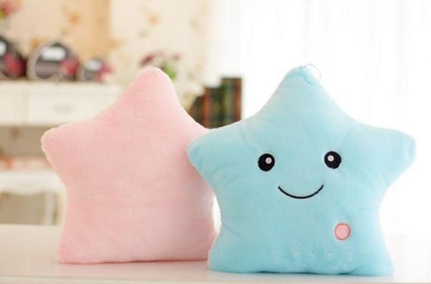 kids-luminous-star-cushion-pillow-plush-doll-led-light-colorful-glowing-toys-blue-pink