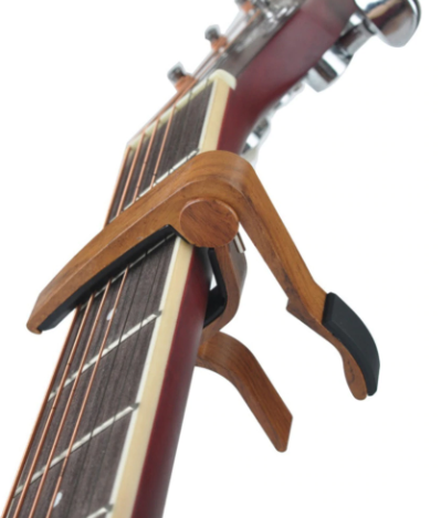 slade-6-string-wood-acoustic-guitar-capo-adjustment-clip-brown