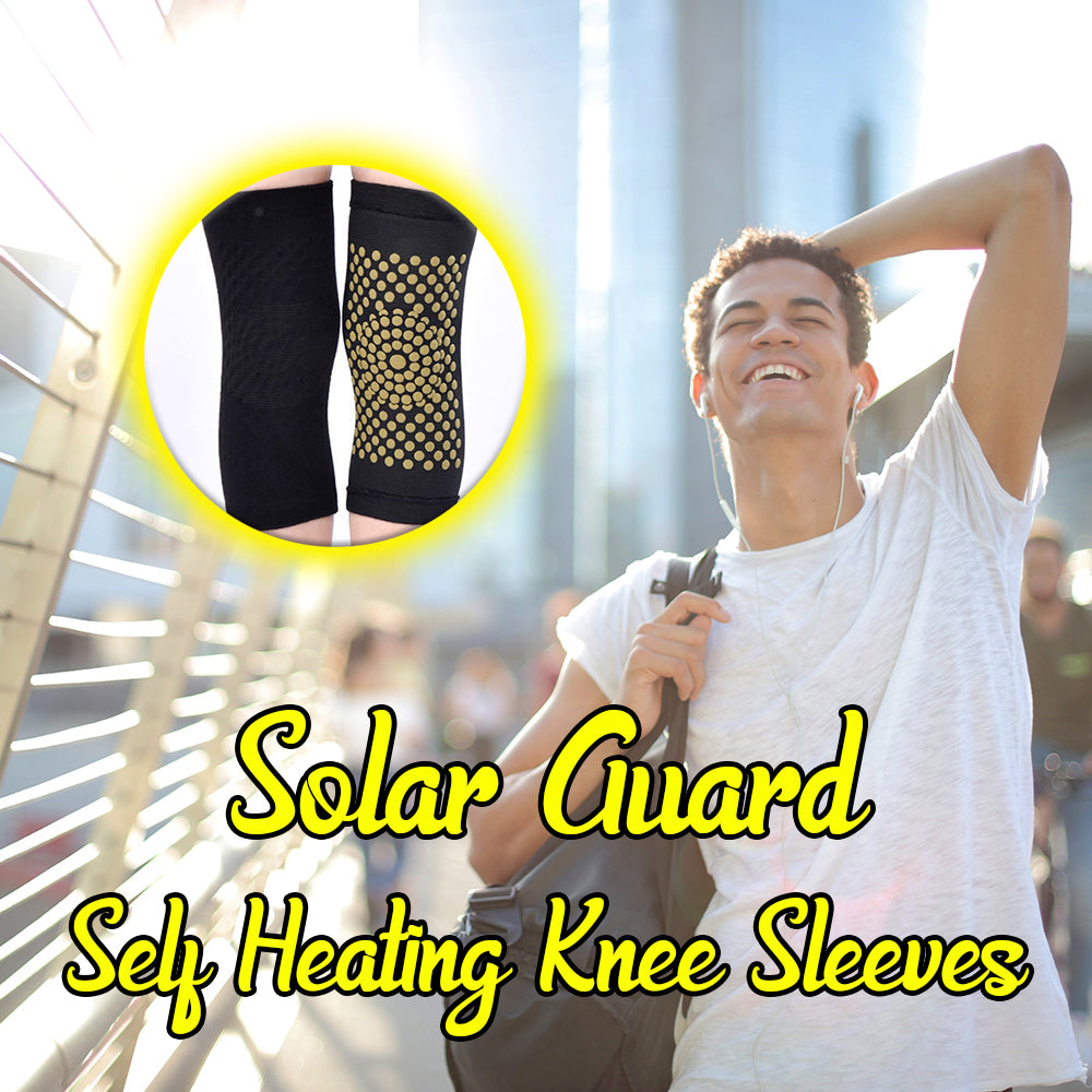 Solar Guard Self Heating Knee Sleeves
