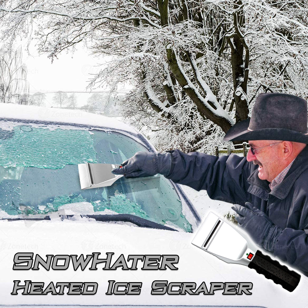 SnowHater Heated Ice Scraper