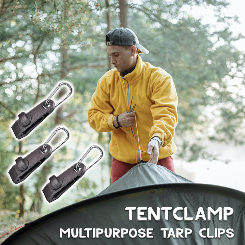 TentClamp Multipurpose Tarp Clips