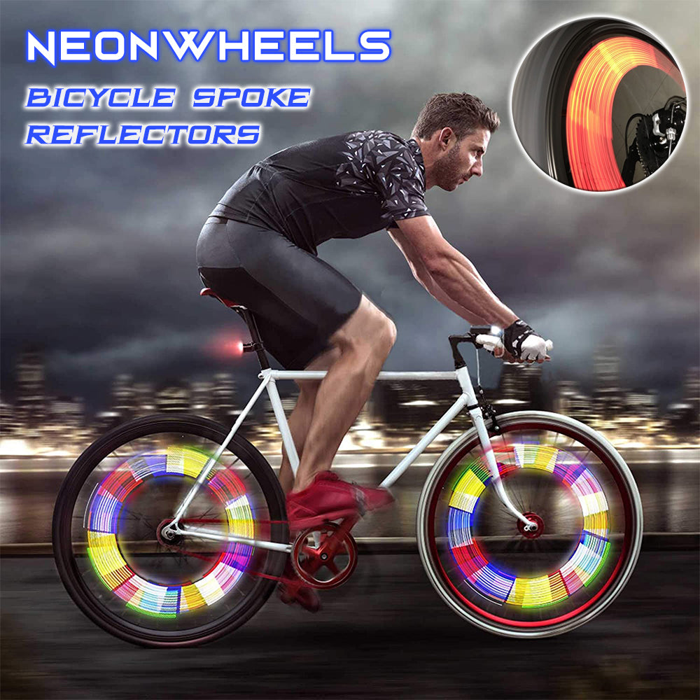NeonWheels Bicycle Spoke Reflectors