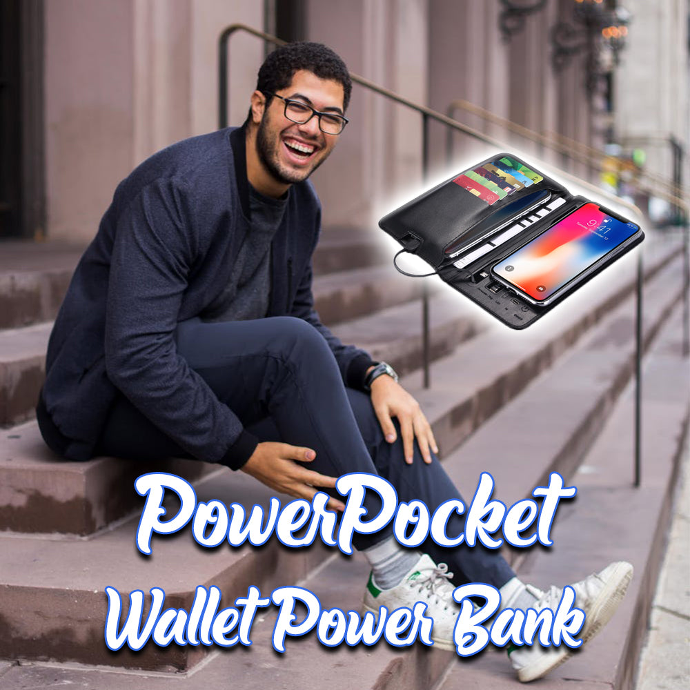 PowerPocket Wallet Power Bank