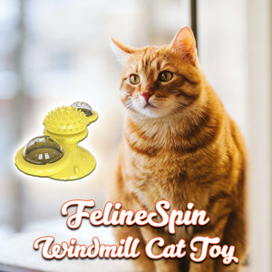 FelineSpin Windmill Cat Toy