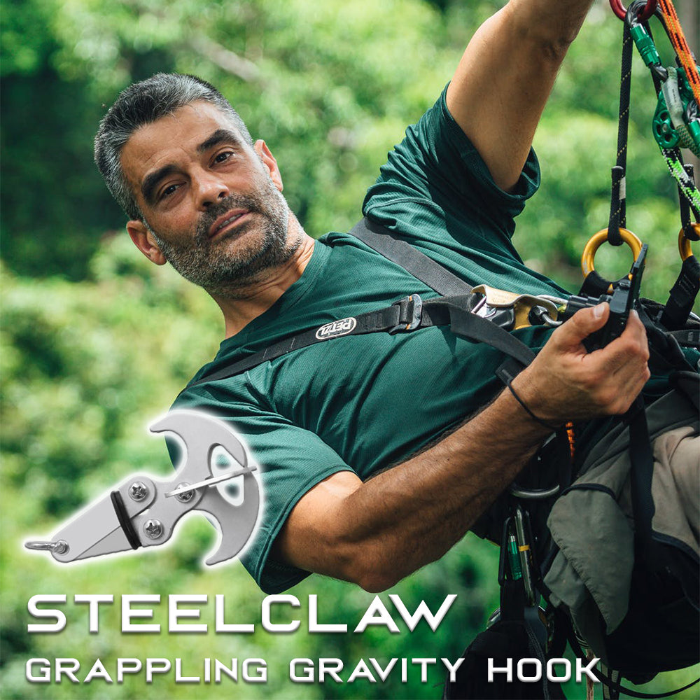 SteelClaw Grappling Gravity Hook